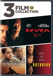 3 Film Collection: Seven / The Shawshank Redemption / Outbreak